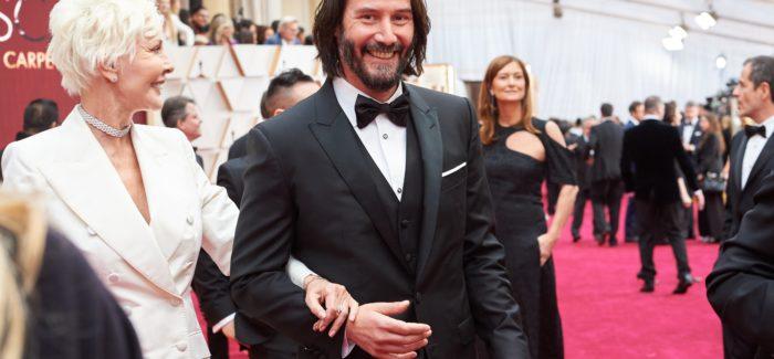Keanu Reeves red carpet Oscar 2020