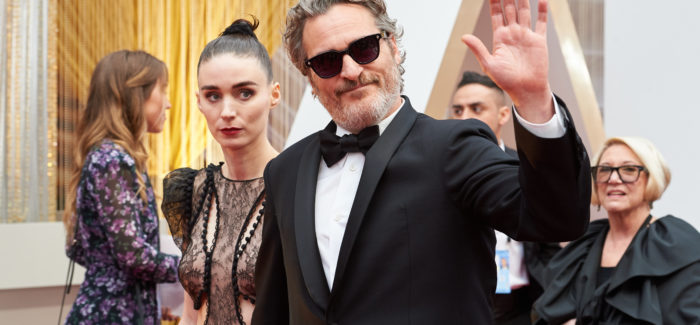 Phoenix e Mara sul red carpet agli Oscar 2020