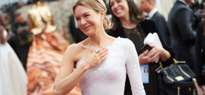 Renée Zellweger agli Oscar 2020