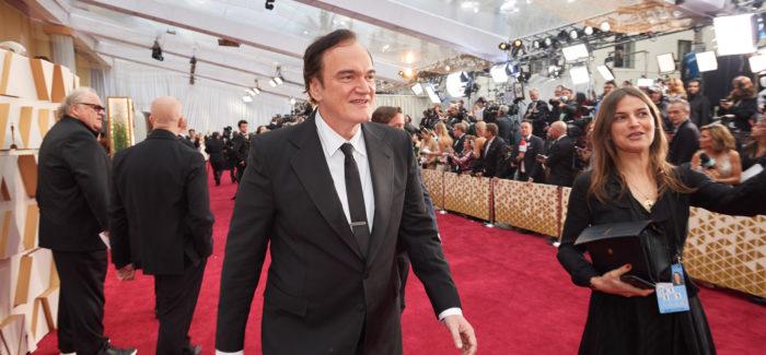 Quentin Tarantino red carpet Oscar 2020
