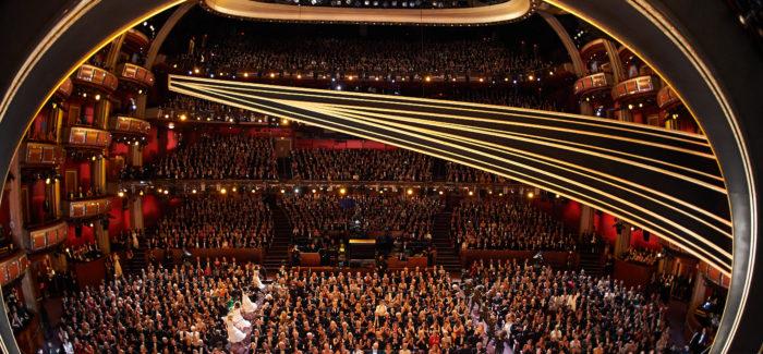 Dolby Theatre dall'alto Oscar 2020