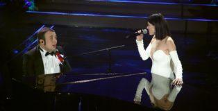 Raphael Gualazzi e Simona Molinari a Sanremo 2020